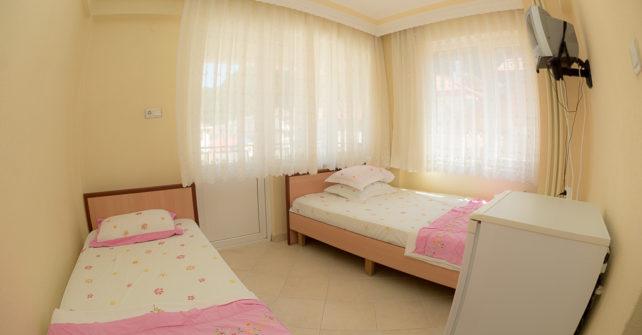 İki Odalı – Yan Cephe – 5 Kişilik Odalar